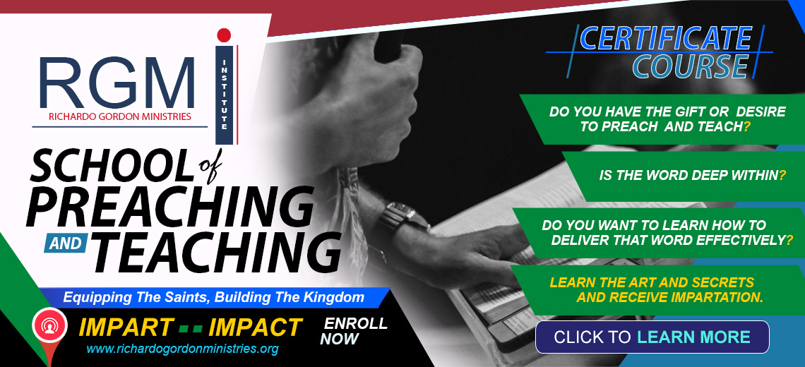 RGMI School of Preaching and Teaching Course l Enroll Now