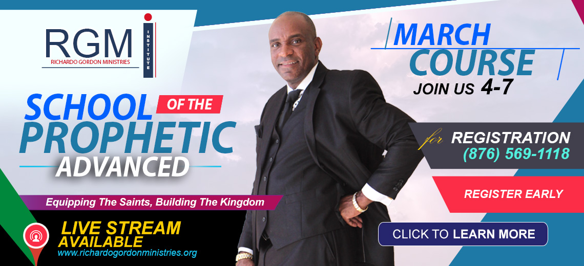 RGMI School of The Prophetic Advanced Course l Enroll Now