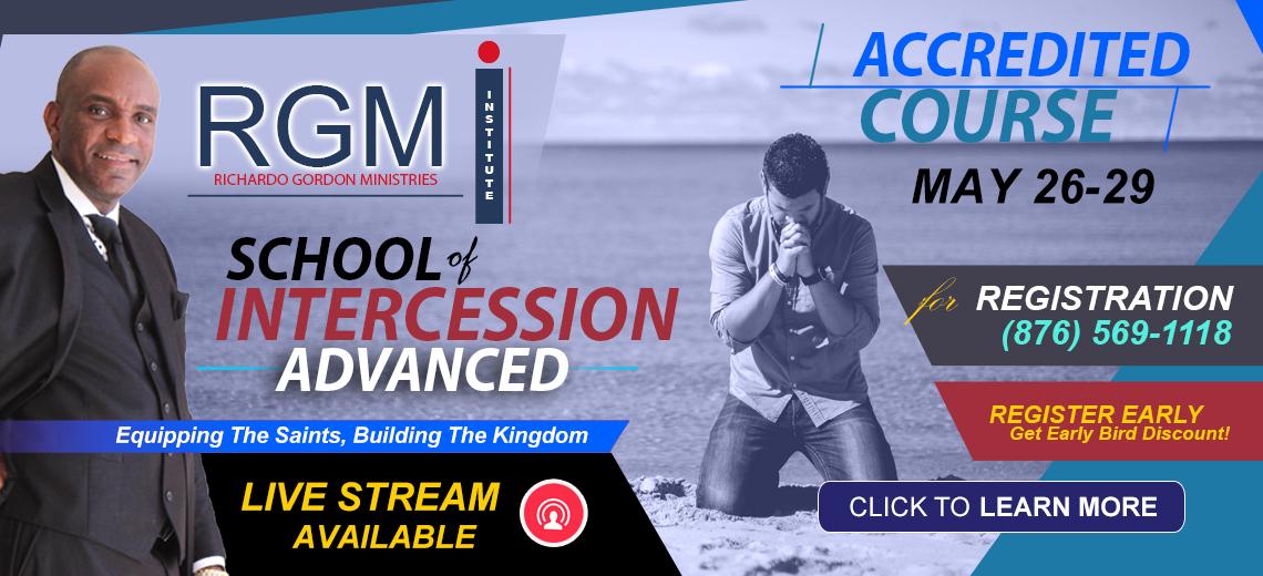 RGMI School of Intercession Advanced Course l Enroll Now