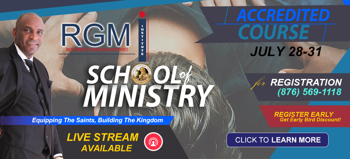 RGMI School of Ministry Course l Enroll Now
