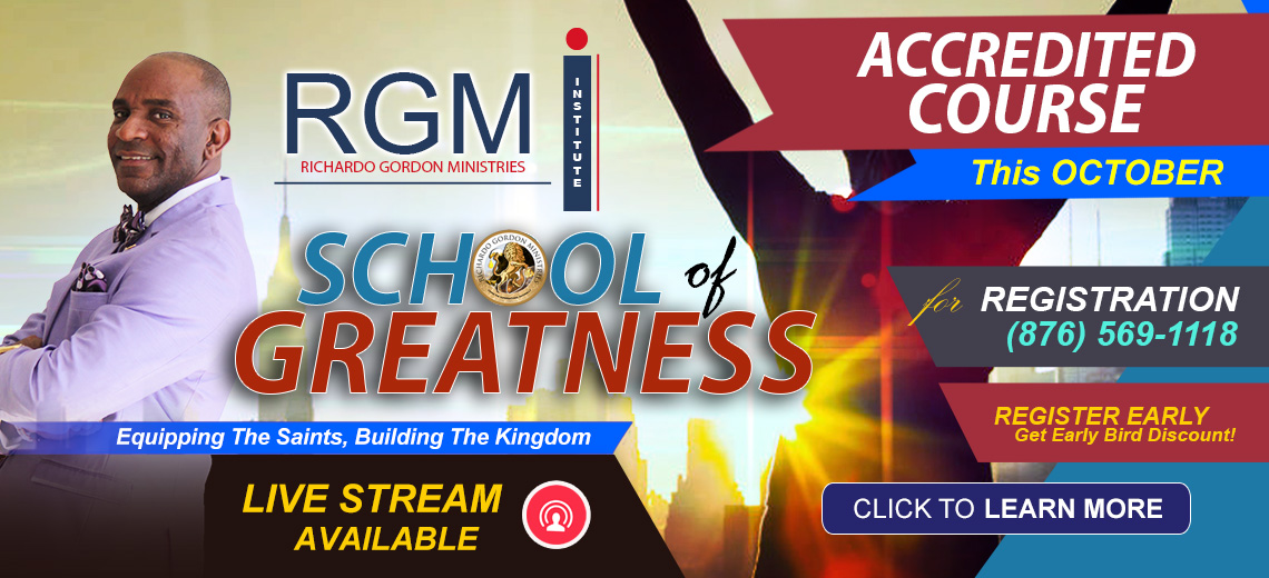 RGMI School of Greatness Course l Enroll Now